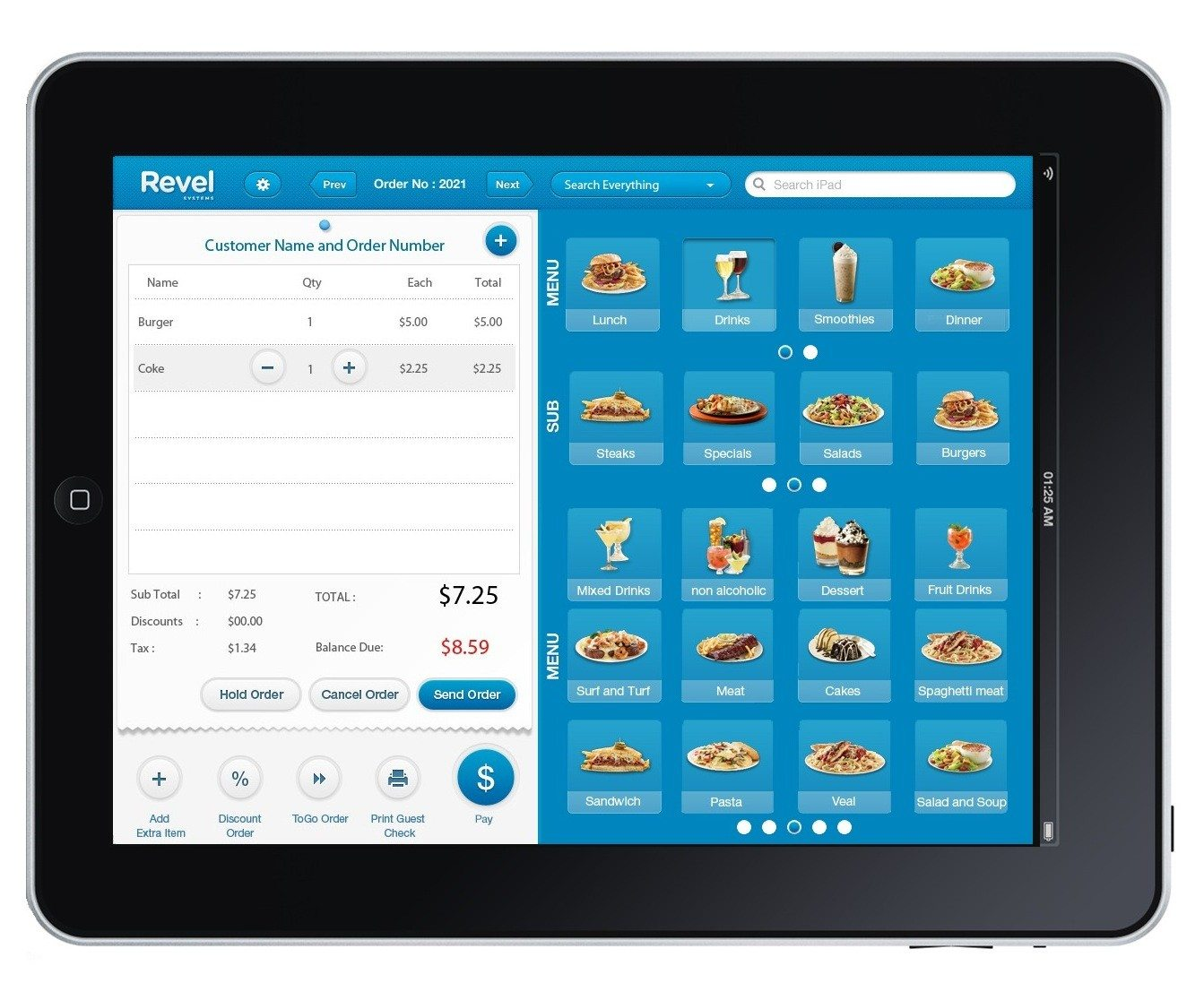 Revel, a Lightspeed POS alternative