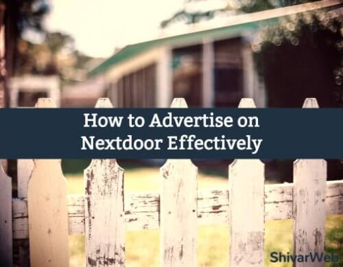 How To Advertise on Nextdoor