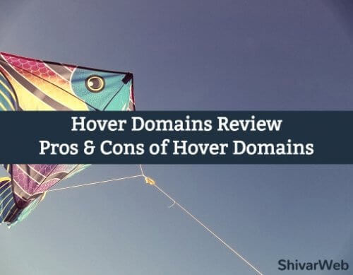 Hover Domains Review