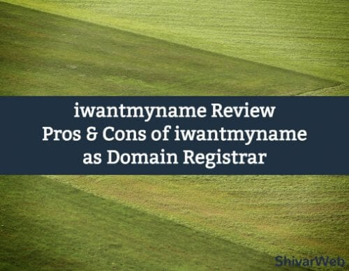 iwantmyname Review