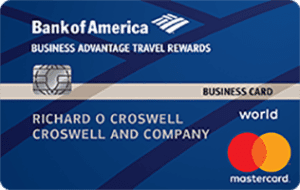 bofa business advantage travel rewards