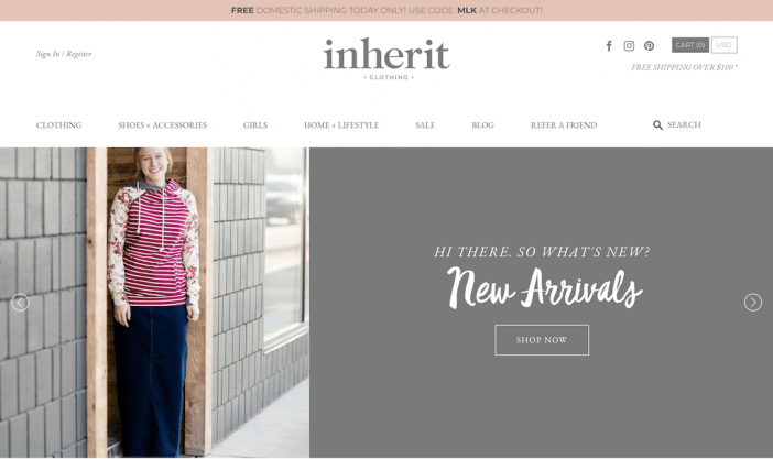 Inherit Clothing