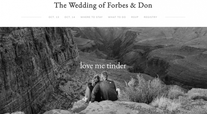 The Wedding of Forbes & Don