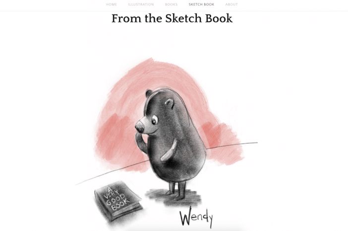Wendy Leach Sketch Book