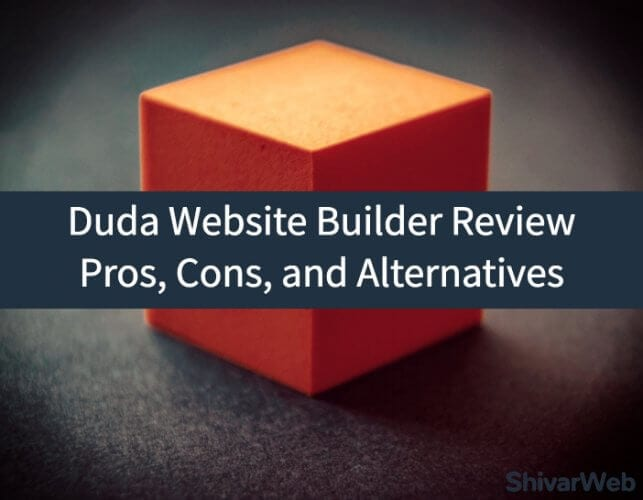 Duda Website Builder Review_ Pros, Cons, and Alternatives