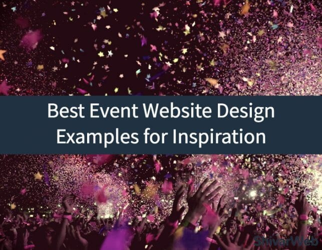 7+ Best Event Website Design Examples for Inspiration