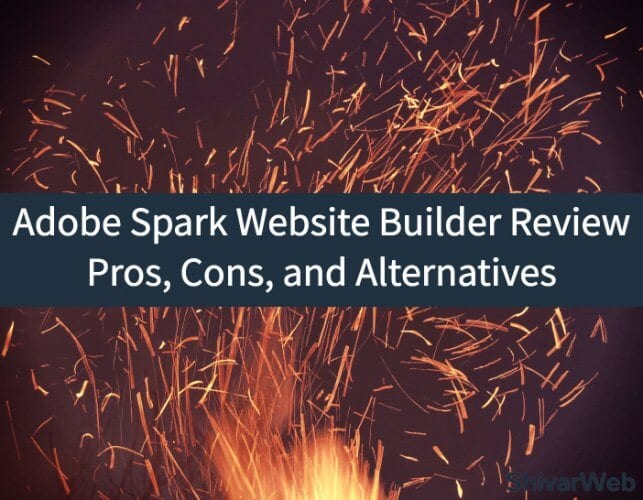 Adobe Spark Website Builder Review
