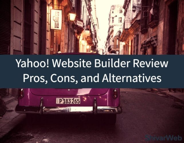 Yahoo! Website Builder Review_ Pros, Cons, and Alternatives