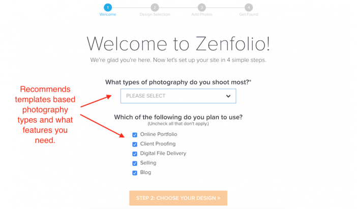 Zenfolio Photography Templates